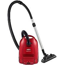 AEG Vampyr - Aspirador con bolsa AA con cepillo especial para parquet, color rojo sandía