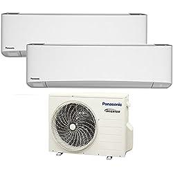 Climatizzatore dual split ETHEREA Panasonic nuova serie Z - 9000+9000 btu