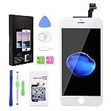 YoSuDa Kompatible für iPhone 6 Display Weiß,LCD Touchscreen Ersatz Komplettset mit Werkzeugen für iPhone 6 Bildschirm 4.7 Zoll (Weiß)