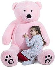 VERCART Orsacchiotto di Peluche Gigante XXXL Orso Bambola Morbida Regalo di Compleanno Fidanzata Natale Adulto