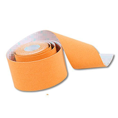 RuiChy Kinesiologisches Tape, zur Muskel-Pflege, Fitness, Gesundheit, Sport Orange (Orange Athletic Tape)