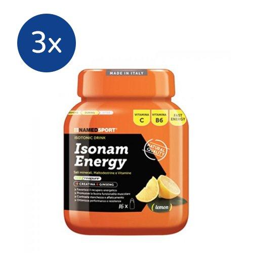NAMEDSPORT 3x Isonam Energy da 480 g. (GUSTO: LEMON) - 41wfrzUSp5L