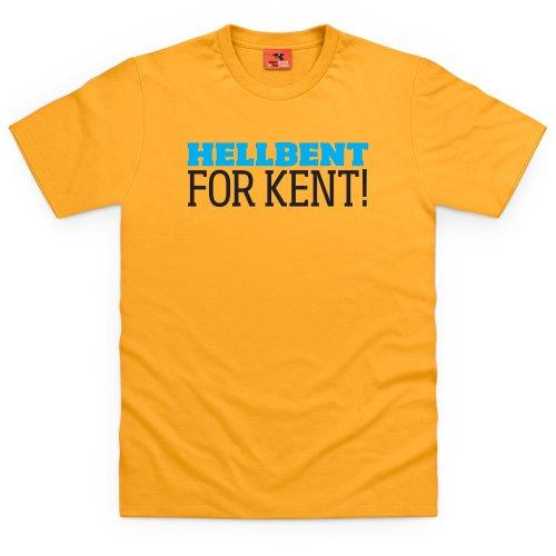 Classic Ford Kent T-Shirt, Herren Gelb