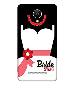 Print Opera Hard Plastic Designer Printed Phone Cover for Xiaomiredmi Note2 Bride Swag