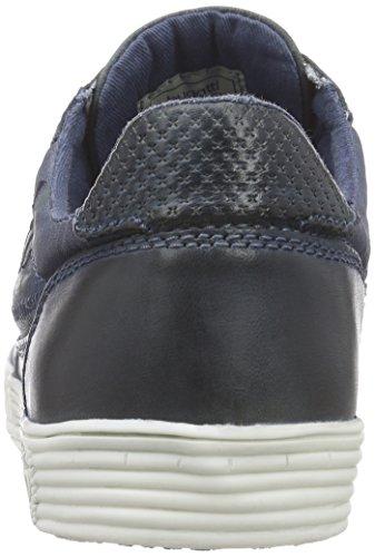 Bugatti F5012PR1G6 Herren Sneakers Blau (jeans 455)