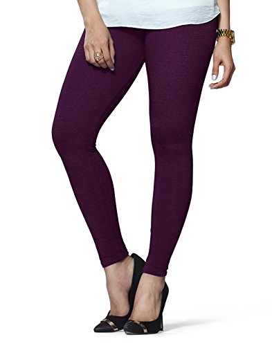 Lux Lyra Women\'s Ankle Length Leggings -Dark Violet
