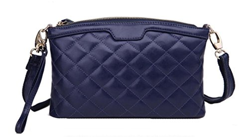 Clutch In Pelle Trapuntato Ms. darkblue