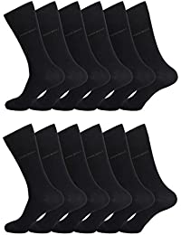 HUGO BOSS Herren Socken Strümpfe Business Allround RS Uni 50272214 12 Paar