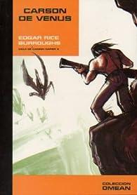 Carson De Venus par  Edgar Rice Burroughs