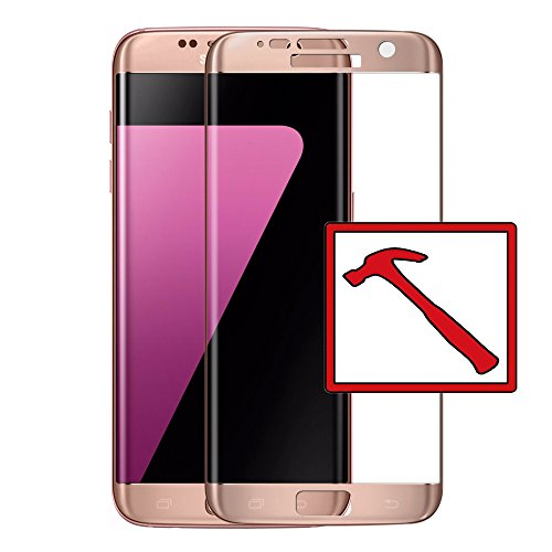 Slabo PREMIUM Panzerglasfolie Samsung Galaxy S7 Edge FULL COVER Echtglas Displayschutzfolie Schutzfolie Folie