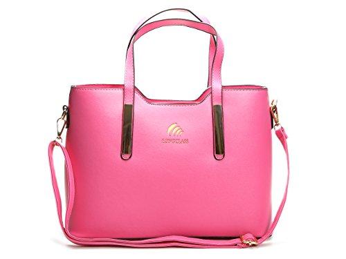 Pinke Tasche Damen ELEGANTO Damen Taschen pink Damentasche Schultertasche Damen pink Handtaschen Damen pink Umhängetasche Damen Tasche...