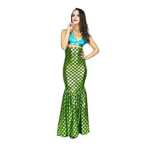 SEA HARE Frauen-Abendkleid-Meerjungfrau-Kostüm
