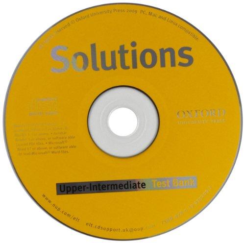 Solutions Upper-Intermediate: Test Bank MultiROM