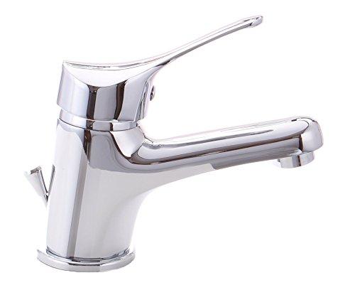 Retro bagno miscelatore rubinetto lavabo rosso oro fori