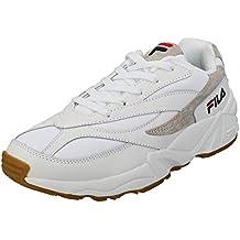 Fila Vintage Hombre 94 Zapatillas de Deporte Bajas, Blanco, 42 EU