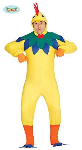 für Erwachsene Herren Damen Henne Vogel Tier Gr. M-XL, Größe:L (Henne Huhn Kostüm)