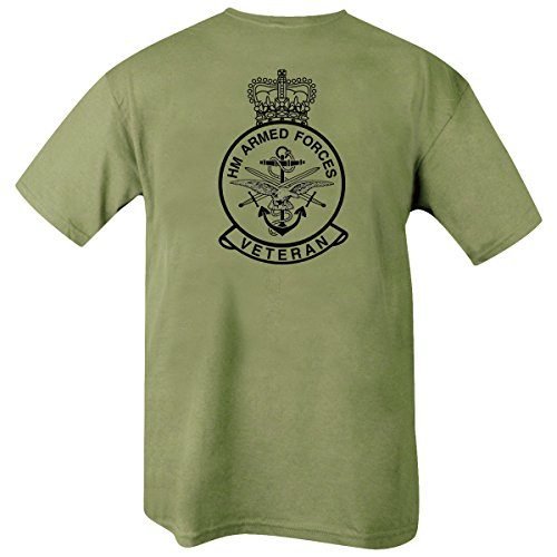 Kombat UK Men's Hm Armed Forces Veteran T-Shirt