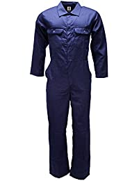 WWK / WorkWear King Mens Kids Boilersuits Overalls Coverall Mechanic Work College