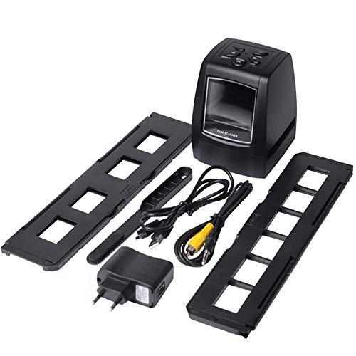 8Eninine 5/135Mm Filmscanner Filmdia-Scan mit 2,36 Zoll LCD-Bildschirm schwarz
