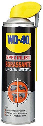 WD-40 Specialist - Sgrassante Spray ad Efficacia Immediata con Sistema Doppia Posizione - 500 m