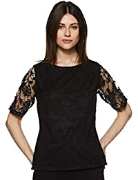 Miss Olive Women's Floral Slim fit Top