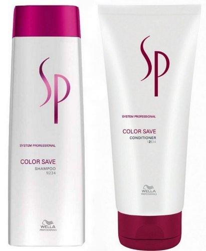 Wella SP - Color Save Duo - Shampoo 250ml + Conditioner 200ml für coloriertes Haar