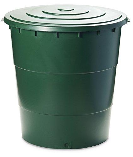 Ondis24 Regentonne Wassertank Regentank Regenwasserfass Ecotank 300 Liter Ständer separat erhältlich