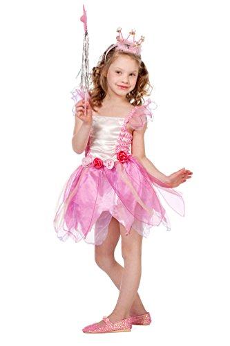 Karneval Klamotten Ballerina Kostüm Mädchen rosa Fee-Kostüm Kinder Karneval Mädchen-kostüm Größe 104