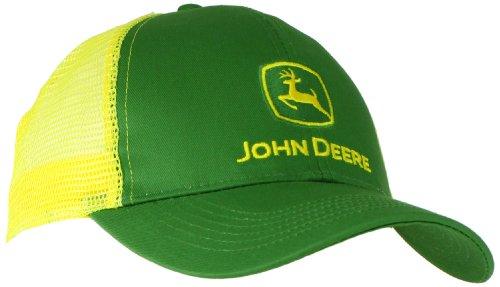john-deere-camiseta-de-contraste-de-malla-gorra-de-beisbol-core