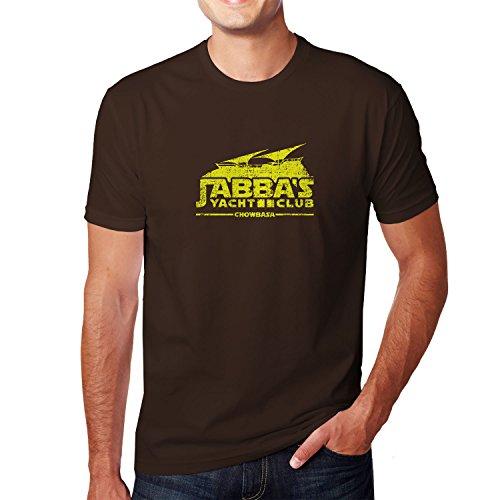 Planet Nerd - Jabba's Yacht Club Chowbasa - Herren T-Shirt, Größe XXL, (Chewbaca Kostüme)