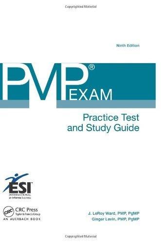 pmp exam prep ninth edition kindle