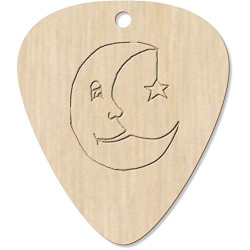 Azeeda 7 x 'Luna dormida' Guitarra Púa (GP00016488)