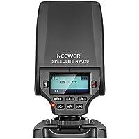 Neewer NW320 Mini TTL Speedlite Flash Automatico Flash Compatibile con Sony MI Hot Shoe DSLR e Fotocamera Mirrorless A6000 A6300 A6500 A7 A7II A7RII A7RIII A7III NEX6 A7SII A7R A7S