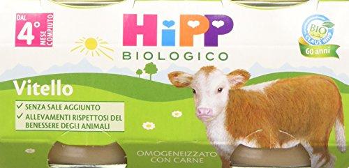 Hipp Omogeneizzato Vitello 24 vasetti da 80 g