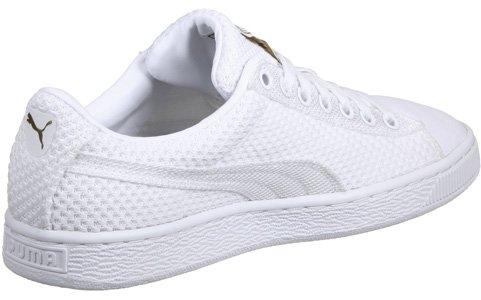 Puma Basket Tech Pack Schuhe weiß gold