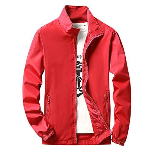 T.boys's Anzugjacke Herren Windbreaker Coole jacken Mit Kapuzen Streetwear Unisex Damen Herren Jungen Mädchen Reißverschluss Cool Herbst Winter Sweatshirt