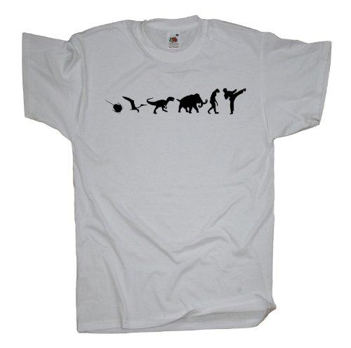 Ma2ca - 500 Mio Years - Karate T-Shirt White
