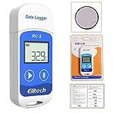 MOHOO Hygrometer Thermometer digital Thermo-Hygrometer innen Raumklimakontrolle mit Touchscreen, LCD-Bildschirm, Trendtemperaturänderung,...
