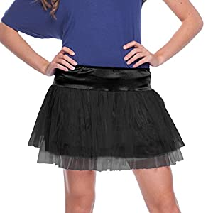 Folat 63681-Negro Tutu Mujer-One Size