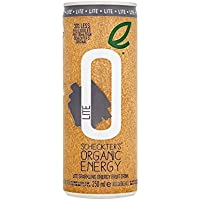 Scheckter's Lite Organic Natural Energy Drink 250ml (Pack of 4)