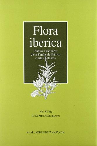 Flora ibérica. Vol. VII/1. Leguminosae (partim)