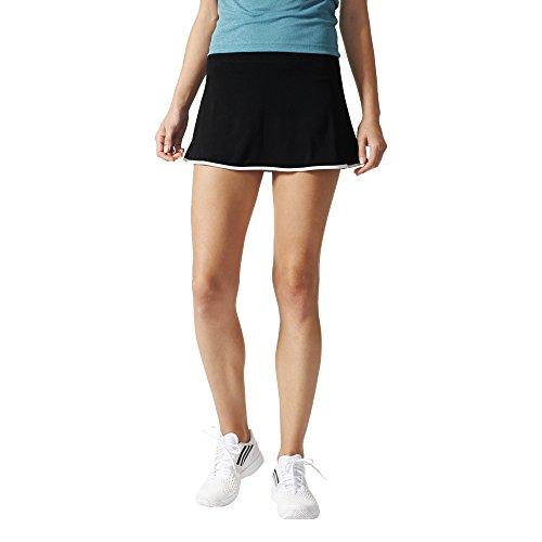 adidas Aspire Skort Falda de Tenis, Mujer, Negro/Blanco, XS