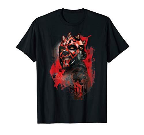 Star Wars Darth Maul Sith T-Shirt (Darth Shirt Maul)