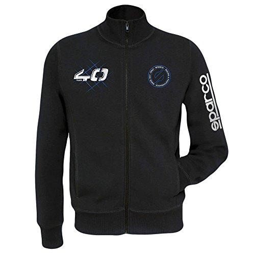 SPARCO S01228NR1S Sweat-Shirt Moderne TG. Noir