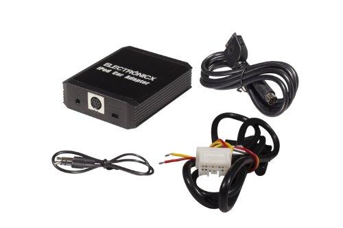 Electronicx® Adattatore interfaccia Compatibile con iPhone iPod iPad, AUX Compatibile con Nissan Almera, Primera, Micra