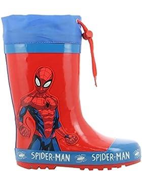 Spiderman Boys Kids Boots Rainboots, Botas de Agua para Niños