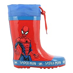Spiderman Boys Kids Boots...
