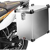 Motorrad Alukoffer Schwarz Quro By Rftec 45l Auto