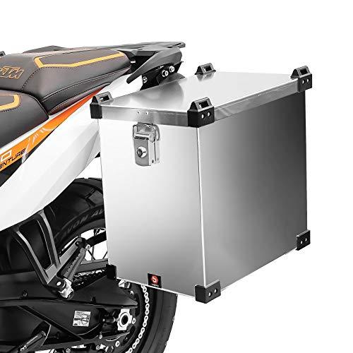Valigia laterale in alluminio per moto per ktm 990 adventure/r/s bagtecs namib 40l borsa