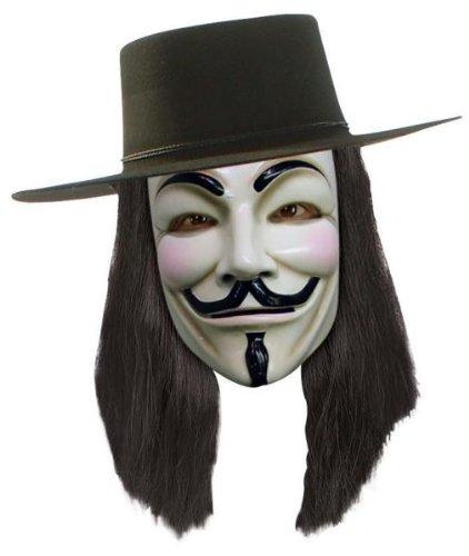 Halloween Kostüme Cosplay Wig Perücke Haar V Für Vendetta Perücke für Maskerade Make-up Party